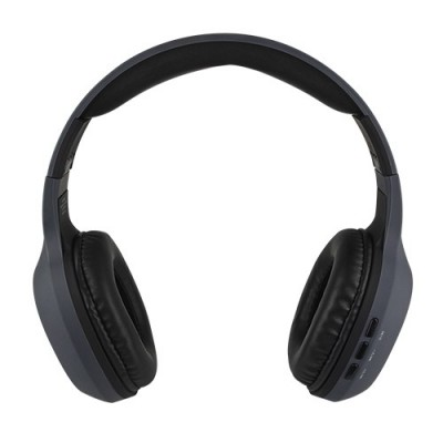 Audifonos on EAR inalambricos BT Gris PERFECT CHOICE PC-116752