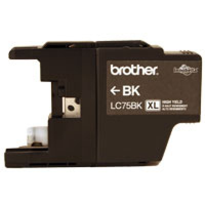Cartucho BROTHER LC75BK