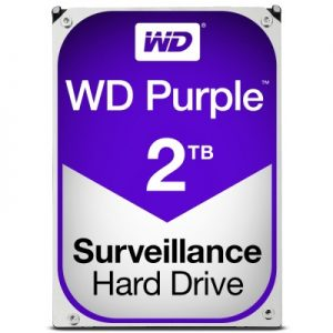 Disco Duro 2TB WESTERN DIGITAL PURPLE Recertificado
