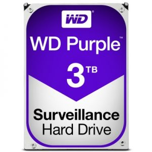 Disco Duro 3 TB WESTERN DIGITAL PURPLE Recertificado