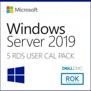 5-PACK  RDS USUARIO 2019 MICROSOFT 623-BBCU