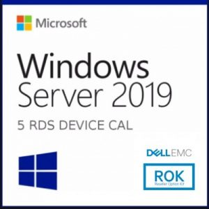 5-PACK  RDS DISPOSITIVO 2019 MICROSOFT 623-BBDC