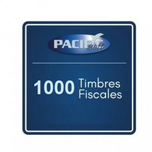 1000 timbres fiscales PACIFIC SOFT FE_PAQ1000