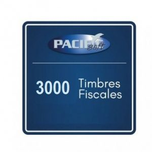 3000 timbres fiscales PACIFIC SOFT FE_PAQ3000