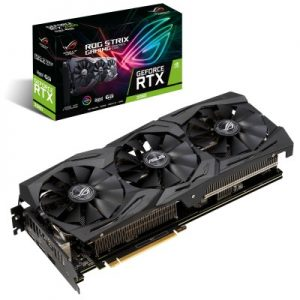 Tarjeta de Video ASUS ROG-STRIX-RTX2060-A6G-GAMING